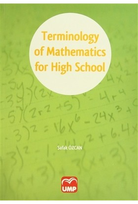 Terminology of Mathematics for High School