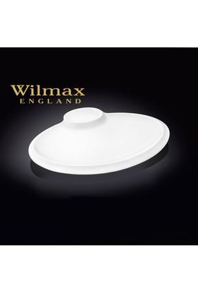 Wilmax Sosluklu Oval Yemek Tabağı, 35*20,5Cm.
