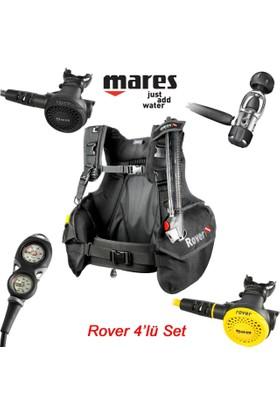 Mares Rover Regülatör Scuba Dalış Bc Seti