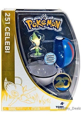 Tomy Pokemon 20Th Anniversary Celebi Ve Great Pokeball Set