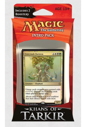 Magic The Gathering Magic The Gathering Khans Of Tarkir Intro Pack: Abzan Siege