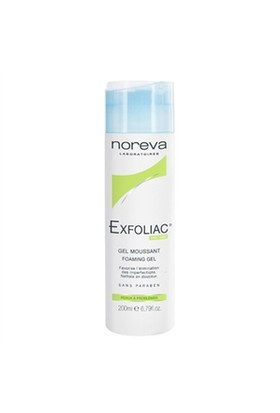 Noreva Exfoliac Foaming Gel 200Ml - Yüz Yıkama Jeli