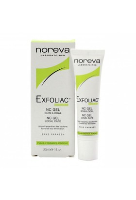 Noreva Exfoliac Nc Gel Local Care 30Ml - Lokal Akne Bakımı