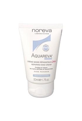 Noreva Aquareva 24H Repairing Hand Cream 50Ml - 24 Saat Nemlendirici El Kremi