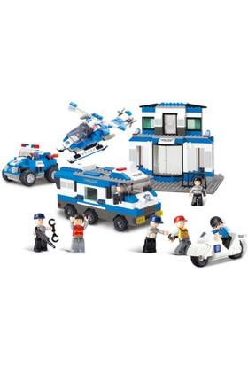 Sluban Police B0193 Polis Merkezi 859 Parça