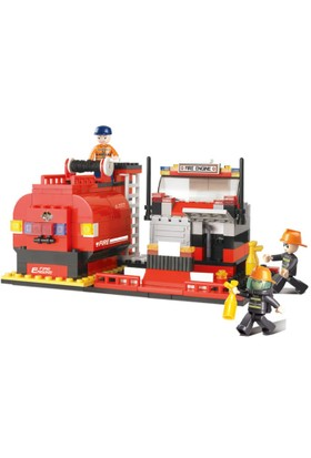 Sluban Fire Alarm B0220 İtfaiye Araç Seti 281 Parça