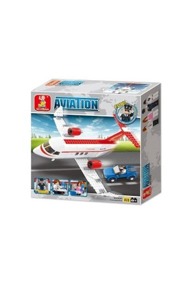 Sluban Aviation B0365 Uçak Set 275 Parça