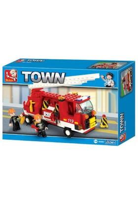Sluban Fire Center B3000 İtfaiye Kamyon 175 Parça