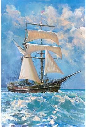 Gold Puzzle 500 Parça Okyanusta Yelkenli