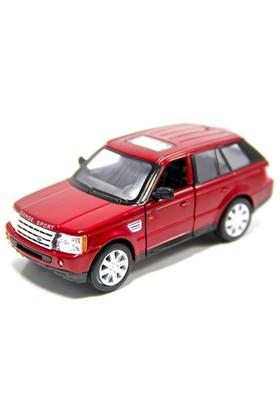 Kinsmart Range Rover Sport (Kırmızı) 1:38 Metal Çek Bırak Araba