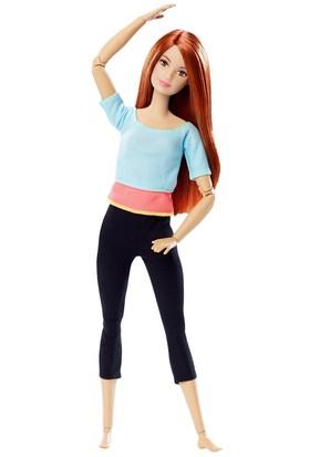 Barbie Sonsuz Hareket Kızıl Saçlı Bebek