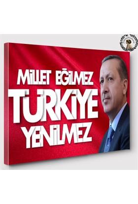 Artred Gallery 50x70 Recep Tayyip Erdoğan Tablo