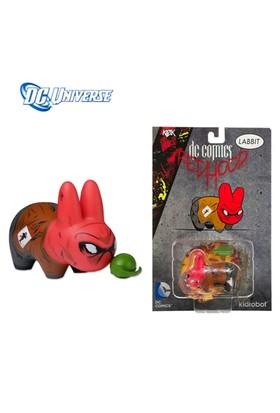 Kidrobot Dc Universe: Labbit Red Hood Vinyl Figure