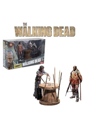 Mcfarlane Toys The Walking Dead: Morgan Jones Deluxe Box Set
