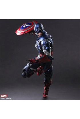 Square Enix Marvel Variant Play Arts Kai Captain America Figure