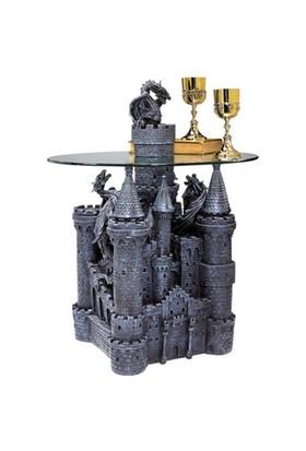 Toscano Lord Langton'S Castle Sculptural Table Şatodan Masa