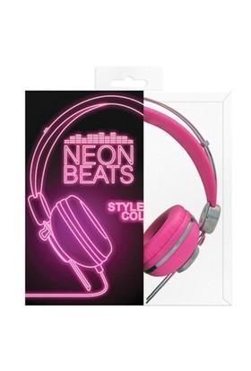 Fizz Creations Neon Pembe Kulaklık