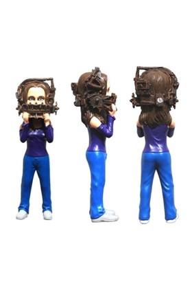 Hollywood Collectibles Saw: Reverse Beartrap Xtreme Dform Statue
