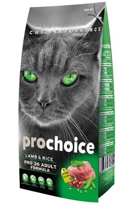 Pro Choice Exlussive Kuzu Etli Ve Pirinçli Kedi Maması 15 Kg
