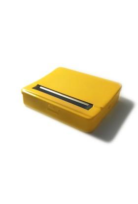 Adell Metal Rollbox Sigara Sarma Tabakası - Sarı