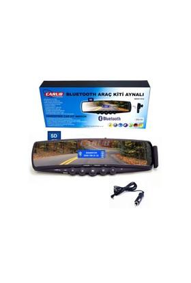 Carub Bluetooth Ekran İç Ayna Ve Kulaklıklı 12V 28,5Cmx7Cm