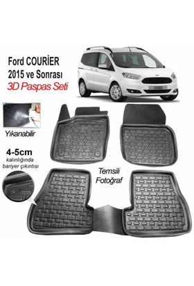Image 3D Kauçuk Paspas Ford Courier Uyumlu Siyah