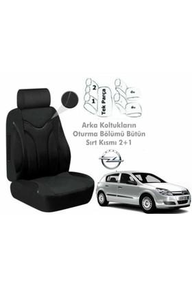 Süslenoto Opel Astra H Kasa 2004-2012 Siyah Oto Koltuk Kılıfı Ortopedik