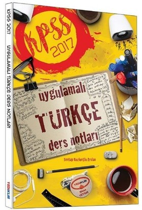 Yediiklim Yayınları Kpss 2017 Uygulamalı Türkçe Ders Notları