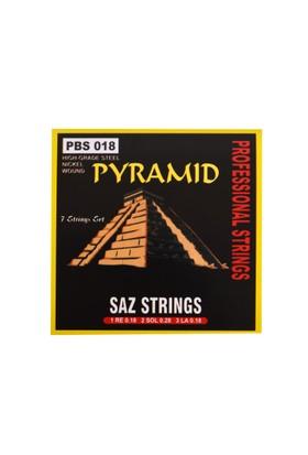 Bağlama Teli Takım Kısa 0.18 Pyramid PBS18