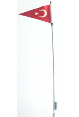 Süslenooto Bayrak Direği Metal Gövde Boy:68Cm