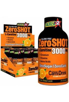 Zero Shot L-Carnitine 3000 mg Portakal Aromalı İçecek 60 ml