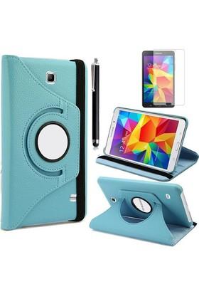 Kılıfland Apple Samsung Galaxy Tab 4 T230 Kılıf 360 Standlı +Film+Kalem