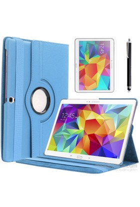 Kılıfland Apple Samsung Galaxy Tab S T700 Kılıf 360 Standlı +Film+Kalem