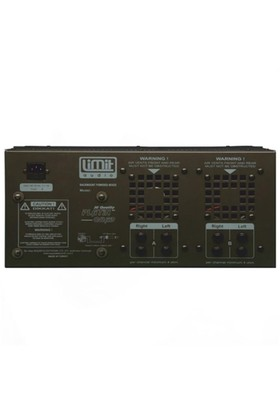 Limit Audio Platin Quad Q2000U Amfi 4X500 Watt