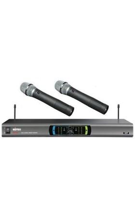 Mipro Mr-823 Telsiz Mikrofon(İkili El)