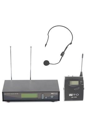 Mito Um 1000H Telsiz Başlık Mikrofonu
