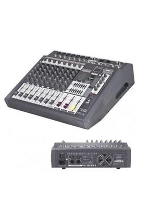Notel Not 800U Power Mikser Amfi 2X350 Watt 9 Kanal