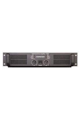 Omcron Q-1200T Trafolu Power Amfi 4X300 Watt