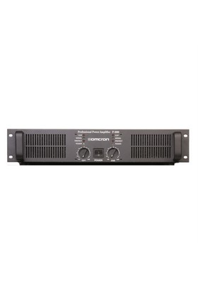 Omcron Startech P-1000 Power Amfi 2X500 Watt