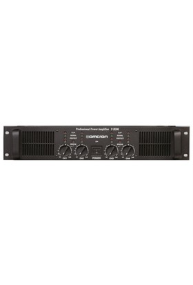 Omcron P-2400 Power Amfi 2X1200 Watt