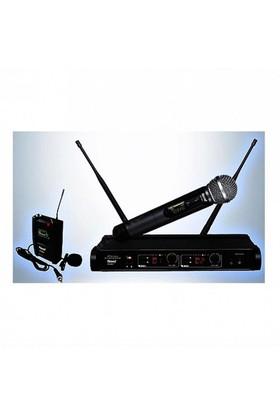 Roof R-920Ey Telsiz El Ve Yaka Mikrofonu