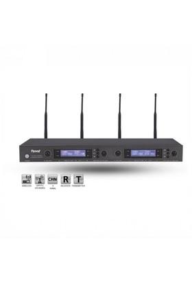 Roof R4000 + R4 + H11 Telsiz Headset Mikrofon 4'lü