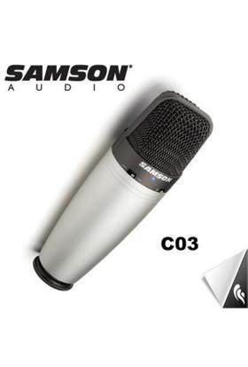 Samson C03 Usb Stüdyo Kayıt Mikrofonu