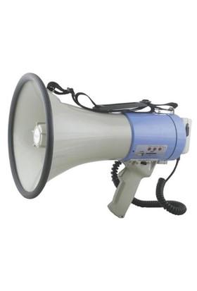 Denox Ls M250 Sirenli Megafon Usb/Sd Kart 100 Watt