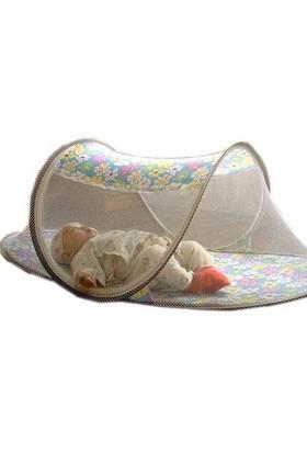 Buffer Katlanabilir Bebek Sineklik Koruyucu Cibinlik Mavi