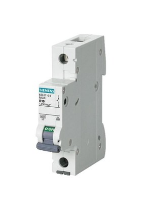 Siemens Tek Fazlı Otomatik Sigorta - B1x10Ax6kA