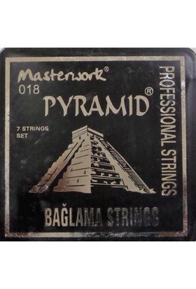 Pyramid Saz Teli 0.18 Kısa Sap Bağlama