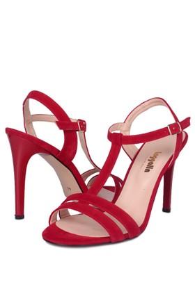 Loggalin Kadın Kırmızı Sandalet 520004 031 527