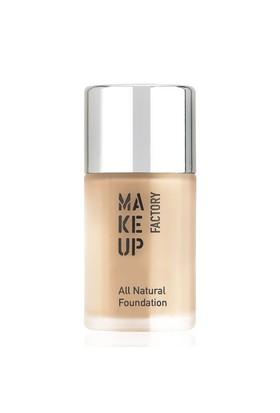 Make Up All Natural Foundation Fondöten 03 Light Beige