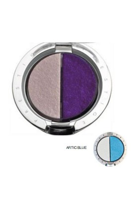 Prestige Cosmetics Silky Duo Eyeshadow Cde 02 Artic Blu